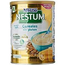 Nestlé Papillas NESTUM Cereales para bebé - Papillas sin gluten ...