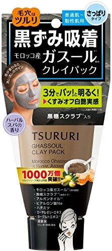 B&C Lab Tsururi Ghassoul Face Mud Mask (Blackcoal with Honey) (Lab Face Mask)