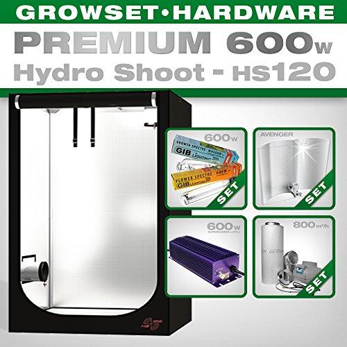 Hydro Shoot hs120 Grow Kit 600 W Premium
