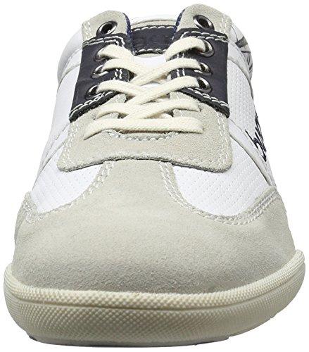 Bugatti K230513, Sneakers Basses Homme Blanc (Weiß 200)