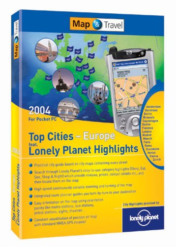 Map & Travel 2004 Europe Top Cit...