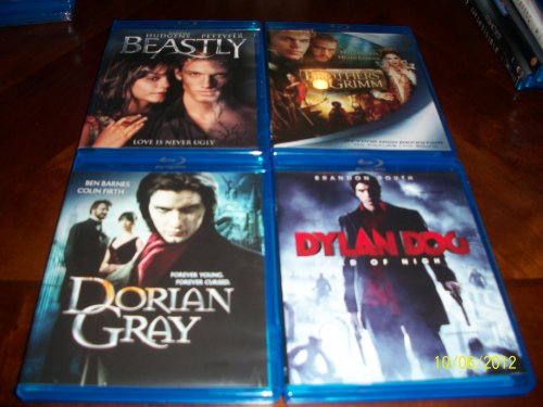Beastly, Brothers Grimm, Dorian Gray, Dylan Dog