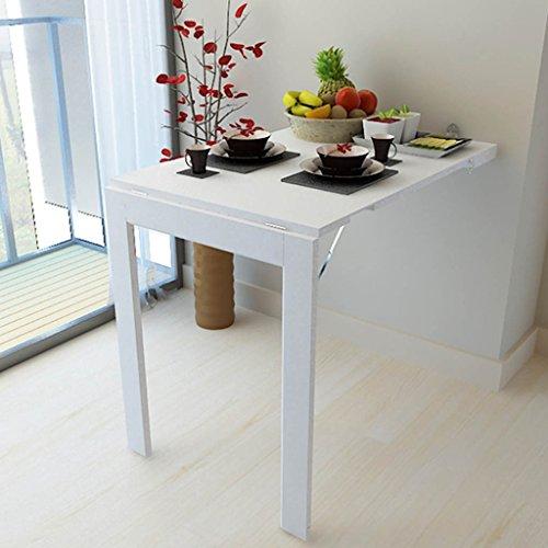 LPYMX Tavolo Pieghevole Multifunzionale, Tavolo da Cucina di casa a ...