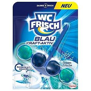 WC Frisch Kraft-Aktiv Blauspüler Ozeanfrische Paket, 10er Pack (10 x 50 g)