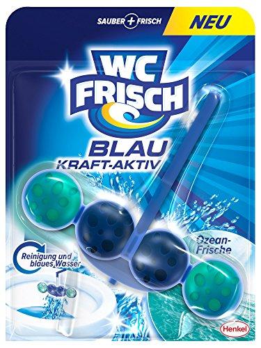 WC Frisch Kraft-Aktiv Blauspüler Ozeanfrische Paket, 50 g Test