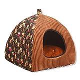 FAFEGVCFDS Kennel, super soft and comfortable deep sleep pet bed, senior pet sofa