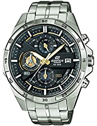Casio Edifice Herrenuhr Analog Quarz mit Edelstahlarmband – EFR-556D-1AVUEF