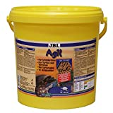 JBL Hauptfutter für Wasserschildkröten von 10-50 cm, Futtersticks, Agil, 70346, 1er Pack (1 x 10.5 l)