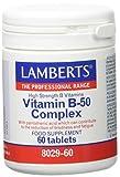 Lamberts Vitamina B-50 Complex - 60 Tabletas