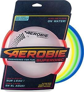 Aerobie - 6046399 - Aerobie Superdisc, Frisbee für präzise Würfe, farblich...