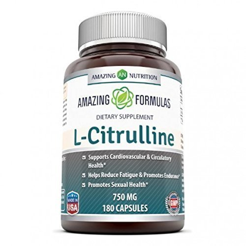 Amazing Nutrition L-Citrulline 750mg 180 capsules