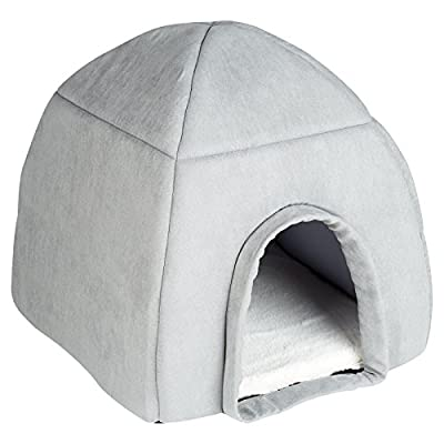 Me & My Large Grey Igloo Pet Bed