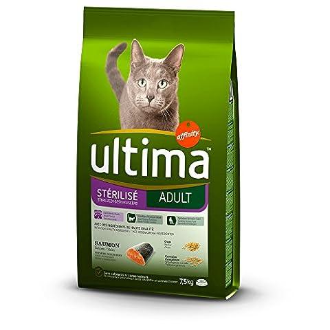 Croquettes Ultima - Ultima Chat Steril Saum 7.5Kg