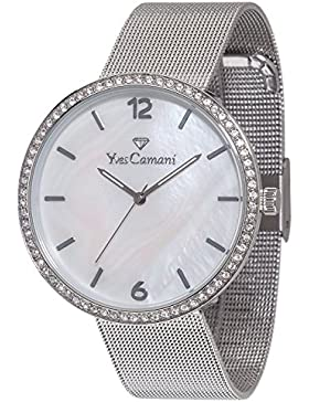 Yves Camani Damen-Armbanduhr Adorian Analog Quarz YC1086-A