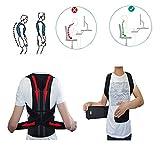 Bauch- und Rückenstützgürtel Haltungskorrektur für Damen und Herren zur eine richtige Körperhaltung (XL)