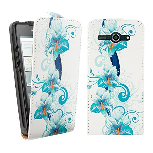 kwmobile Huawei Ascend Y530 Hülle - Handyhülle für Huawei Ascend Y530 - Handy Case Flip Schutzhülle