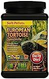 Exo Terra Soft Pellets Futter für junge europäische Schildkröten 540g