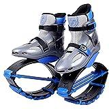 MLyzhe Spazio Bouncing Scarpe in Linea Pattini Fitness Saltare Scarpe Anti gravità in Esecuzione Stivali per Danza in Esecuzione,M