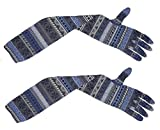 #5: Cotson Printed Bike & Activa Riding Summer Tanning Protection Long Gloves (Pack of 1 Pair)