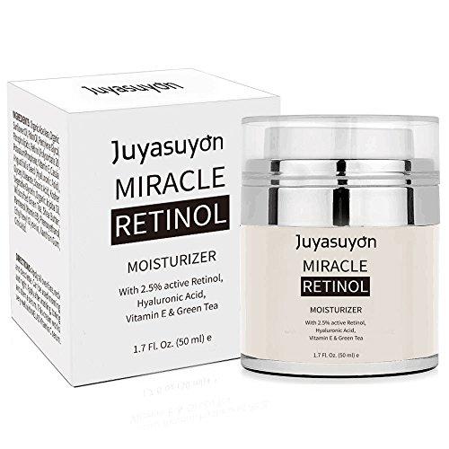 Retinol Feuchtigkeitscreme Creme mit Vitamin A C E, Pawaca Pure Retinol Creme für Gesicht und Augen...