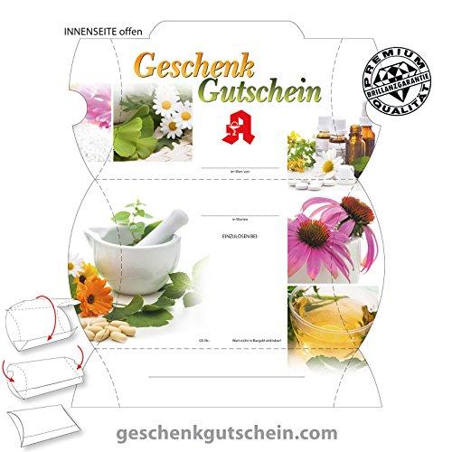 25 Stk. Premium Gutschein Boxen für deutsche Apotheken AP302, LIEFERZEIT 2 bis 4 Werktage !
