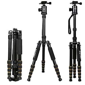 ZOMEI Z669 Professionnel En Aluminium Trépied & monopode et Rotule Pour SLR Caméra Nikon Canon PETAX Sony Avec Housse De Transport