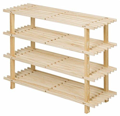 4 tier schuh rack holz einfache lagerung schrank mbel creative simplicity organizer regale farbe - Einfache Dekoration Und Mobel Samtpfoten Fuer Die Moebel