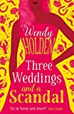 Three Weddings and a Scandal (A Laura Lake Novel)