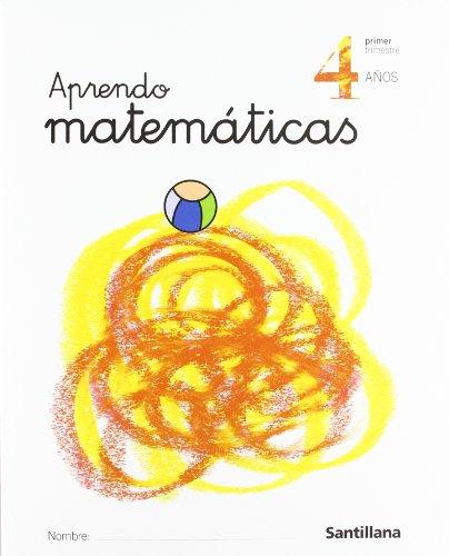 Aprendo matemáticas, Educación Infantil, 4 años - 9788429484632