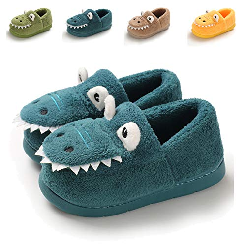 Toddler Boys Girls Cute Cartoon Animals Slippers Cozy Winter Warm House Shoes