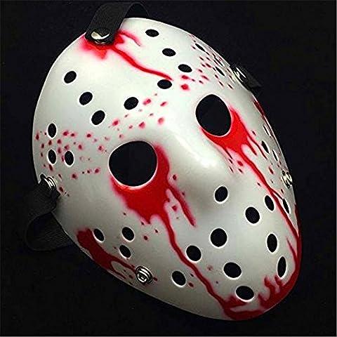 AAAHOMEEU Freitag Der 13. Horror Hockey Jason Vs. Freddy Maske Halloween Kostüm Prop (Halloween Kostüm-ideen Paare)