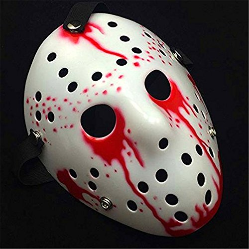 AAAHOMEEU Freitag Der 13. Horror Hockey Jason Vs. Freddy Maske Halloween Kostüm (Kreative Kostüme Frauen Halloween)