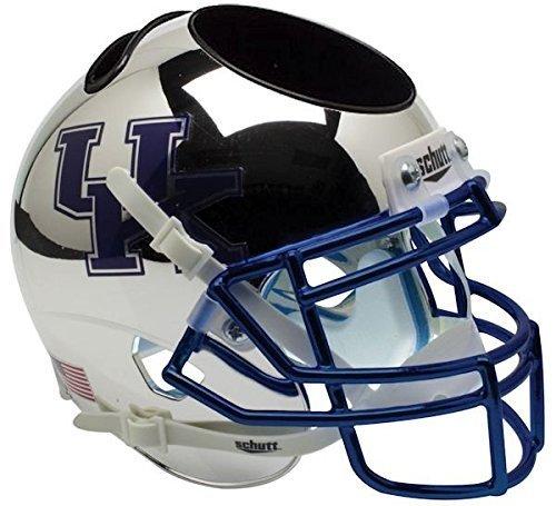 Kentucky Wildcats NCAA Schutt Mini Football Helm Schreibtisch Caddy (chrom) Großbritannien von Schutt