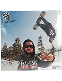 Think Thank Brain Dead Heart Attack Snowboard DVD/Bluray Combo by DVD