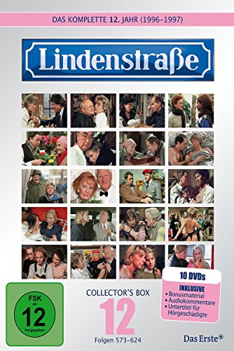 Die Lindenstraße - Das zwölfte Jahr (Folge 573-624) (Collector\'s Box, 10 DVDs)