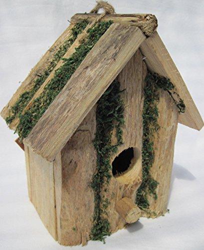 Lifetime Hermosa casa de pájaros pájaro pajarera Nido Comedero NIST Casa Madera Nuevo