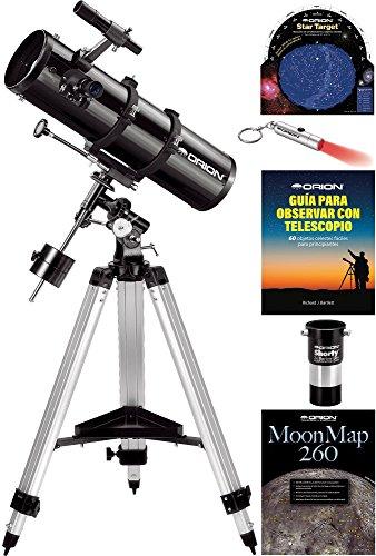 Kit de telescopio reflector Orion SpaceProbe 130ST EQ
