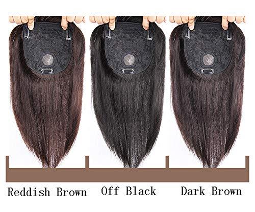 Crown Topper Hair Extensions für Top dünner werdendes Haar, Wiglet Haarteile Clip In Pony Haarteil für Frauen - Crown Hair Extensions