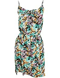 Universal Textiles Womens/Ladies Floral Print Short Length Strappy Summer Dress
