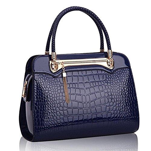 GBT Neue Art- und Weisehandtaschen-Schulter-Beutel 2016 Blue
