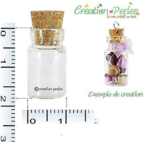 Mini Pc palloni, 20 x 18 mm, 10 flaconi Ciondolo ciondoli creazione perline in pasta Fimo