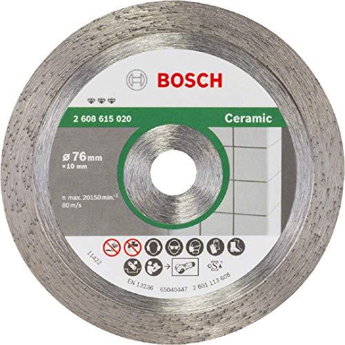Bosch Professional Diamanttrennscheibe Gut (für Keramik, Ø76 mm, BohrungsØ: 10,00 mm)