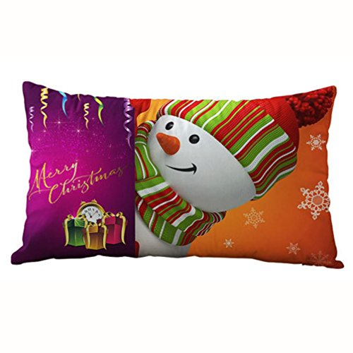 Pillow Case, Ammazona 3050CM Sofa Bed Home Decor Christmas Rectangle Cotton Linter Pillow Case Cushion Covers (s)