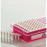 4TITUDE 448012 Regleta de 8 tubos PCR Vari-Strips, sin tapón, natural (Electronics-Set de 120)