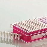 4TITUDE 4480198provette PCR rail vari-strips 480/96per LC480Barette, su bianco (confezione da 50)