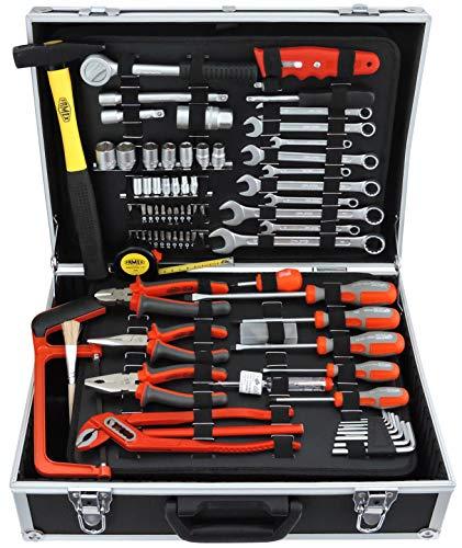 Famex 759-65 Werkzeugkoffer mit Werkzeugbestückung, 125-teilig