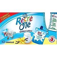 Recré olé gouter lactés vanille 12x85g - Livraison Gratuite pour les commandes en France - Prix Par Unité