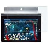 atFolix Panzerfolie für Lenovo Yoga Tablet 2-8 Folie - 2 x FX-Shock-Clear stoßabsorbierende ultraklare Displayschutzfolie