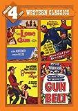 Movies 4 You: Western Classics (The Lone Gun, Ride Out For Revenge, Gunsight Ridge & Gun Belt) by George Montgomery