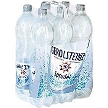 Gerolsteiner Sprudel / Natürliches Mineralwasser mit viel Kohlensäure und wertvollem Calcium und Magnesium / 6 x 1,5 L PET Einweg Flaschen